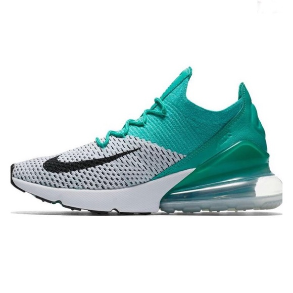 025462a2ff Nike Shoes | Womens Air Max 270 Flyknit Clear Emerald 8 | Poshmark